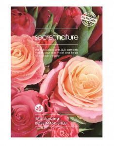 SECRET NATURE Маска увлажняющая для лица с розой 25 мл