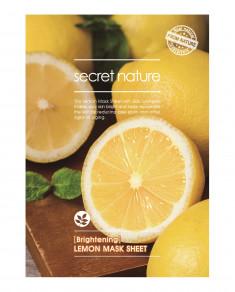 SECRET NATURE Маска придающая сияние коже с лимоном 25 мл