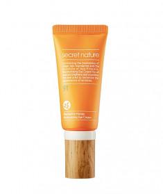 SECRET NATURE Крем придающий сияние для кожи вокруг глаз с мандарином и прополисом 30 мл