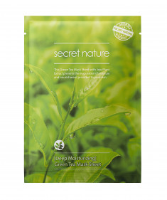 SECRET NATURE Маска суперувлажняющая с зеленым чаем 25 мл