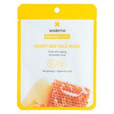 Маска антивозрастная для лица Sesderma BEAUTYTREATS Honey bee face mask 22мл