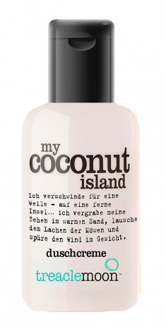 TREACLEMOON Гель для душа Кокосовый рай / My coconut island Bath & shower gel 60 мл