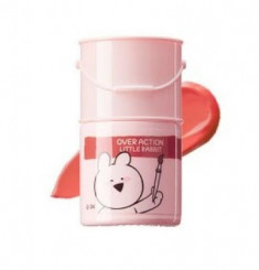 Тинт-помада для губ THE SAEM Over Action Rabbit Lip Paint 11 Sugar Coral 5г