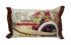 Мыло с отшелушивающим эффектом с восточными травами JUNO Sangtumeori Peeling Soap Oriental Medicine 150г