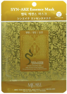 Маска тканевая Змеиный яд Mijin Syn-Ake Essence Mask 23гр