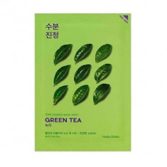 Маска тканевая противовоспалительная Holika Holika Pure Essence Mask Sheet Green Tea, зеленый чай 20 мл
