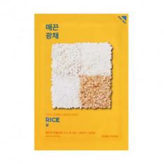 Маска тканевая против пигментации Holika Holika Pure Essence Mask Sheet Rice, рис 20мл