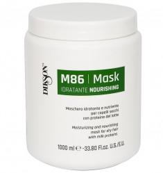 DIKSON Маска увлажняющая и питательная для сухих волос с протеинами молока / MASK NOURISHING M86 1000 мл