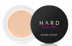 Консилер кремовый Holika Holika Hard Cover Cream Concealer 03 Sand Ivory, натуральный бежевый 6 г