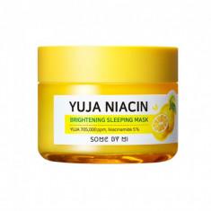 ночная маска для сияния кожи some by mi yuja niacin 30 days miracle brightening sleeping mask