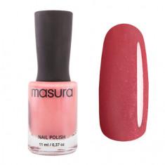 Masura, Лак для ногтей №1318, Клубничный марципан, 11 мл