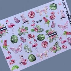 AnnaTkacheva,3D-слайдер№586 «Бабочки. Листья» Anna Tkacheva