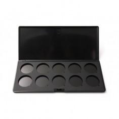 Пустая черная палитра на 10 позиций Make-Up Atelier Paris PRR10 160 гр