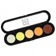 Палитра теней, 5 цветов Make-up Atelier Paris T06 желто-оранжевые тона