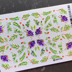 AnnaTkacheva,3D-слайдерHT№438 «Цветы. Листья» Anna Tkacheva