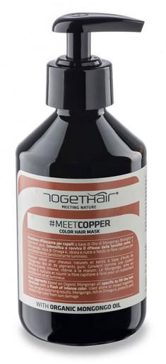 TOGETHAIR Маска оттеночная для волос, медь / MEETCOPPER Color Hair Mask 250 мл