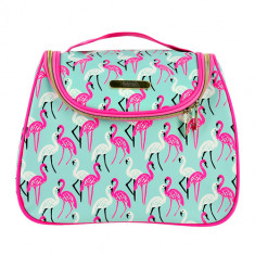 Косметичка квадратная LADY PINK MUST HAVE LIMITED Flamingo