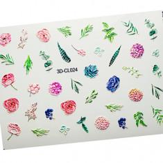 AnnaTkacheva,3D-стикерCL№024 «Цветы. Цветочки» Anna Tkacheva