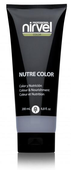 NIRVEL PROFESSIONAL Гель-маска питательная, цвет серебристый / NUTRE COLOR SILVER 200 мл