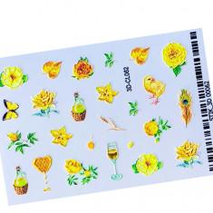 AnnaTkacheva,3D-стикерCL№062 «Цветы. Лето» Anna Tkacheva
