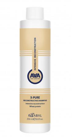 KAARAL Шампунь восстанавливающий для поврежденных волос с пшеничными протеинами / AAA X-FORM 250 мл