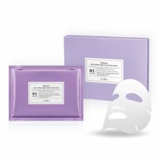 Маска тканевая шелковая со скаленом Dr. Althea Pro Lab Premium Squalane Silk Mask 5 шт
