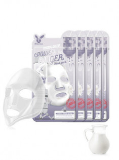 НАБОР Тканевых масок с Молоком Elizavecca MILK DEEP POWER Ringer mask pack 23мл*10шт