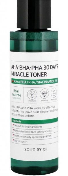 SOME BY MI Тонер с кислотами для проблемной кожи / AHA-BHA-PHA 150 мл