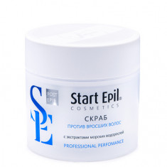 Start Epil, Скраб против вросших волос, 300 мл