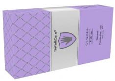 SAFE & CARE Перчатки нитриловые, перламутровые фиолетовые, размер S / Safe & Care 100 шт