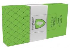 SAFE & CARE Перчатки нитриловые, зеленые (зеленое яблоко), размер М / Safe & Care 100 шт