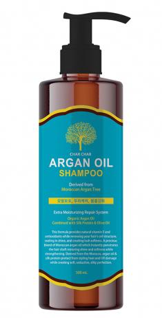 EVAS Шампунь аргановый для волос / Char Char Argan Oil Shampoo 500 мл