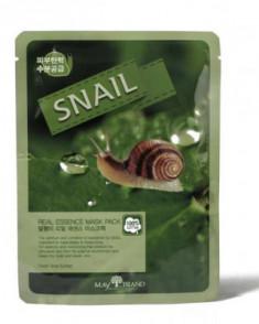 Маска тканевая с муцином улитки May Island Real Essence Snail Mask Pack 25мл