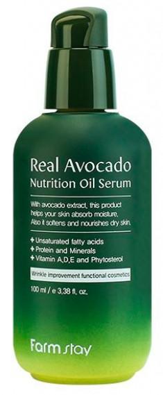 FARMSTAY Сыворотка питательная с маслом авокадо 100 мл