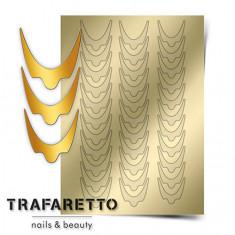 Trafaretto, Металлизированные наклейки CL-08, золото