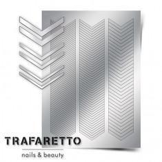 Trafaretto, Металлизированные наклейки GM-07, серебро
