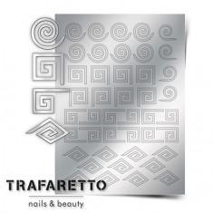 Trafaretto, Металлизированные наклейки GM-01, серебро