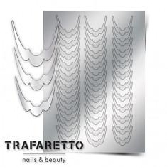 Trafaretto, Металлизированные наклейки CL-09, серебро