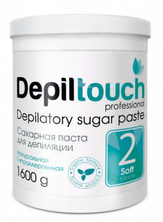 DEPILTOUCH PROFESSIONAL Паста сахарная мягкая / Depiltouch professional 1600 г