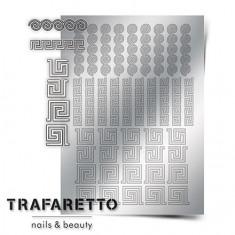 Trafaretto, Металлизированные наклейки OR-03, серебро