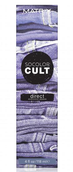 MATRIX Крем-краситель с пигментами прямого действия для волос, выцветший деним / SOCOLOR CULT 118 мл