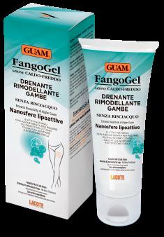 GUAM Гель дренажный контрастный с липоактивными наносферами для ног / FANGOGEL 200 мл