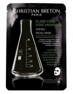 Чёрная маска для глубокого очищения Christian Breton Age Priority 20мл*3шт