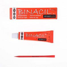 Binacil, Краска для бровей и ресниц, коричневая, 15 мл