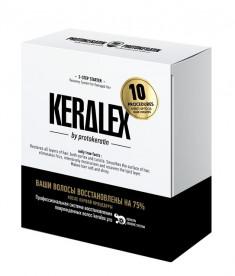 PROTOKERATIN Набор стартовый 3-х шаговой салонной процедуры (шампунь 150 мл, реконструктор 150 мл, увлажнитель 150 мл) Keralex 3-Step Starter Kit