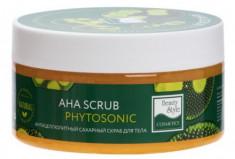 "Антицеллюлитный сахарный скраб для тела ""AHA Scrub Phytosoniс"" Beauty Style 200 мл"