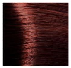 KAPOUS HY 6.6 краска для волос, темный блондин красный / Hyaluronic Acid 100 мл
