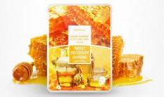 Маска с фильтратом улитки и мёдом DEOPROCE Color synergy effect sheet mask yellow 20г*25шт