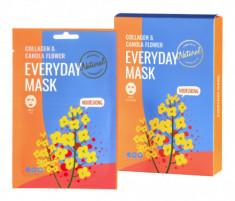 Набор масок для лица питательных DEARBOO Collagen&Canola Flower 27мл*10шт