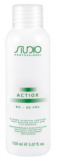 STUDIO PROFESSIONAL Эмульсия окислительная кремообразная с экстрактом женьшеня и рисовыми протеинами 9% / ActiOx 150 мл